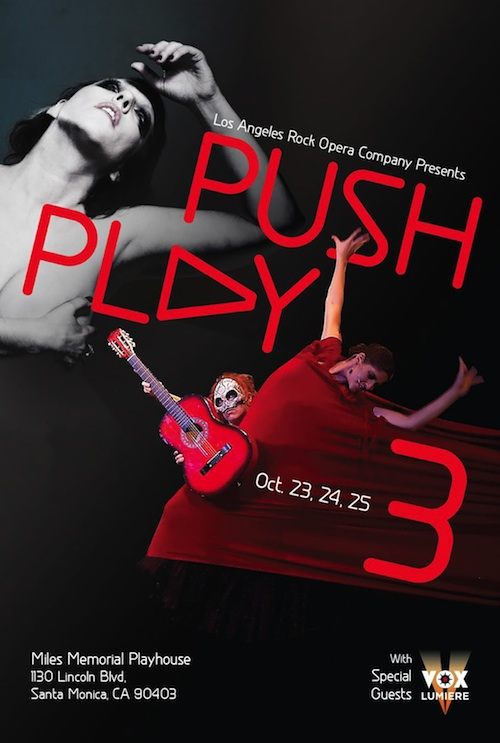 Push Play Poster